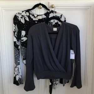 NWT bundle of two O'neill blouses
